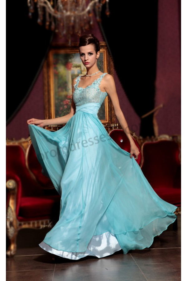 15 baby blue evening gowns for all women pretty designs for Baby blue wedding guest dress
