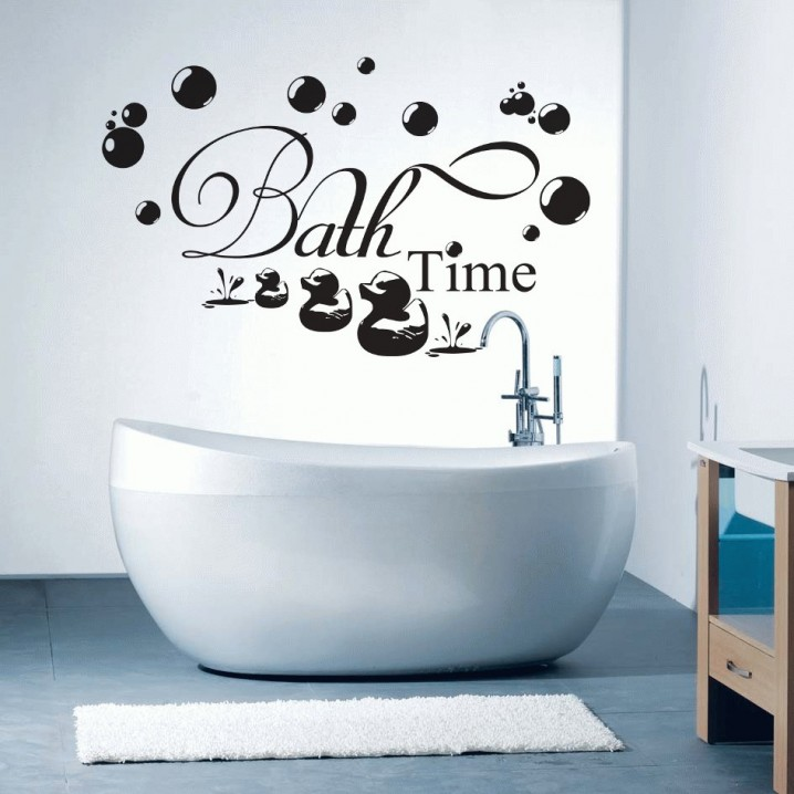 Diy ideas creative wall arts to decorate your house Bathroom art ideas