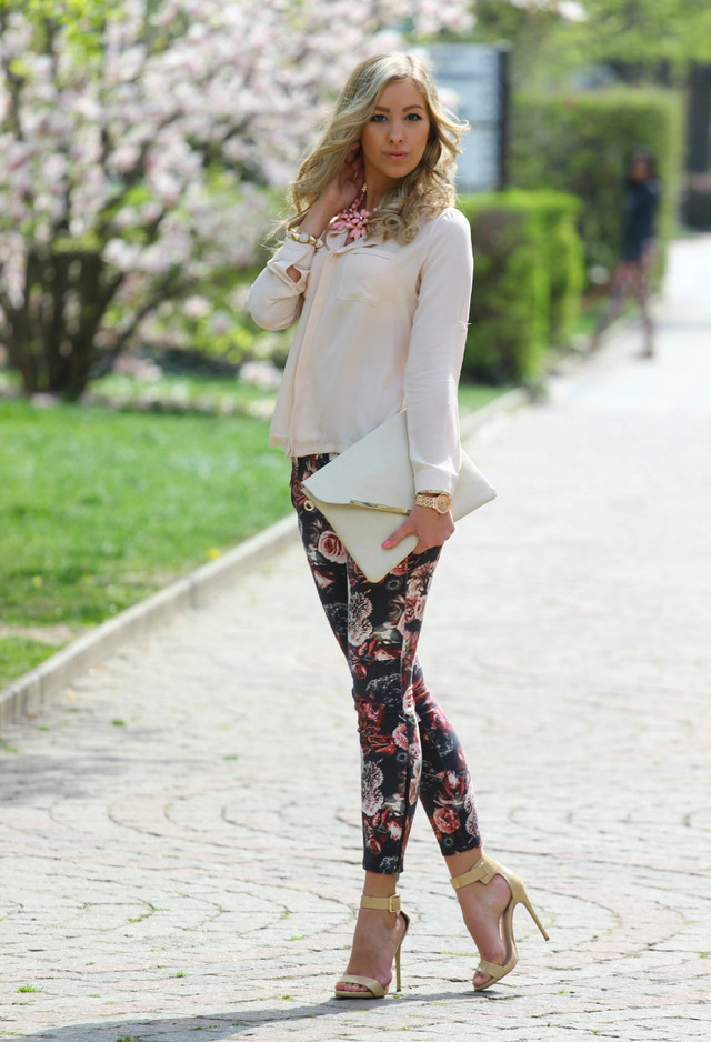 Best Combination Ideas about Floral Pants