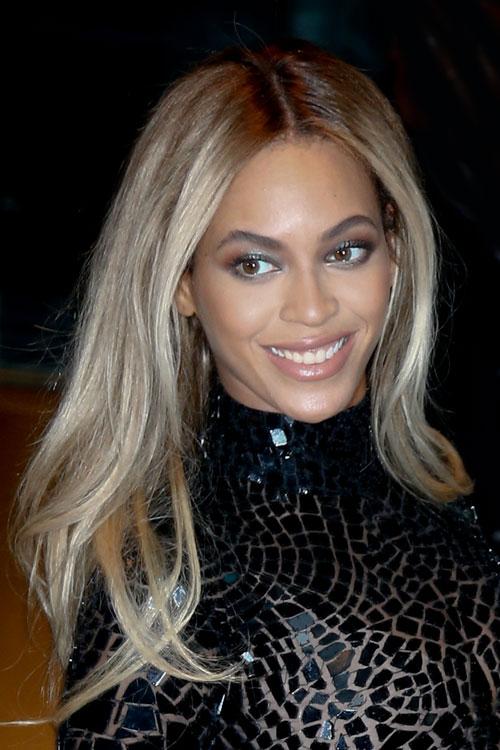 Beyonce Ash Blonde Straight Hair