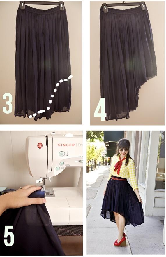 Black Hilo-skirt