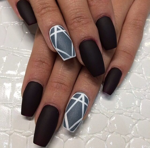 Sassy and pretty nail designs you must have pretty designs black nails prinsesfo Images