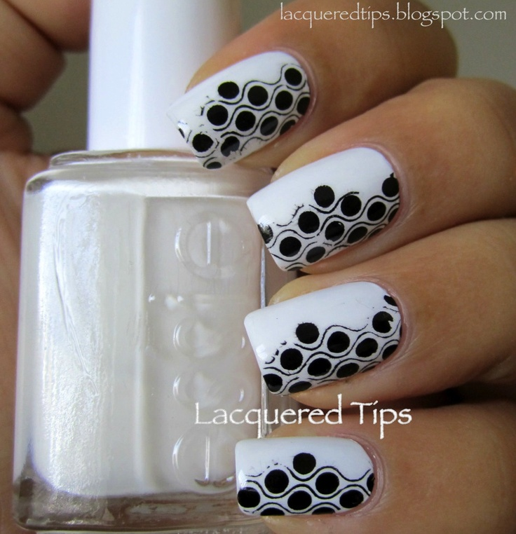 Black and White Stamping