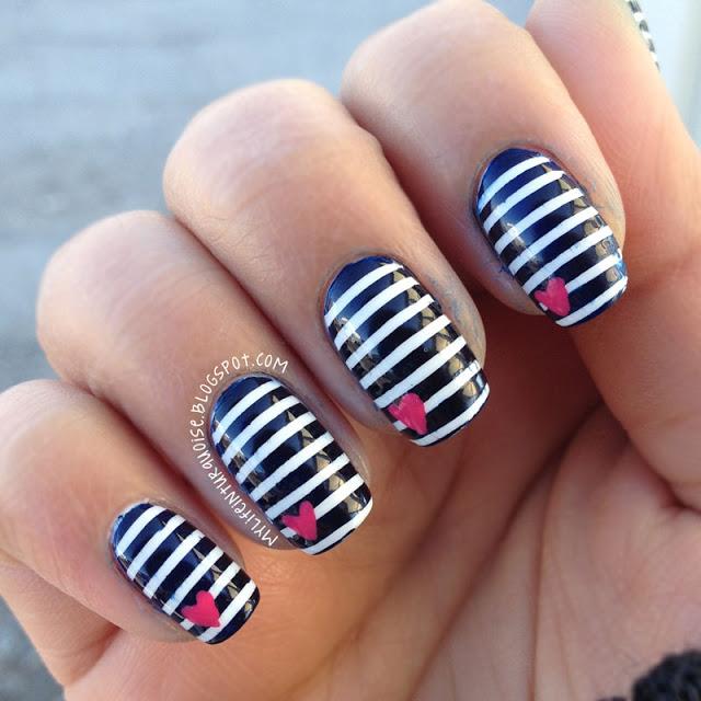 14 Striped Nail Designs For The Season Pretty Designs