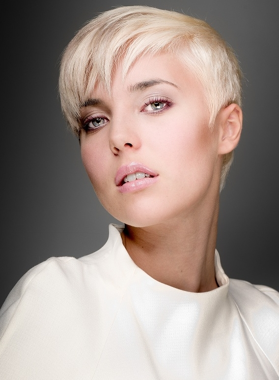 Blond Pixie Hairstyle