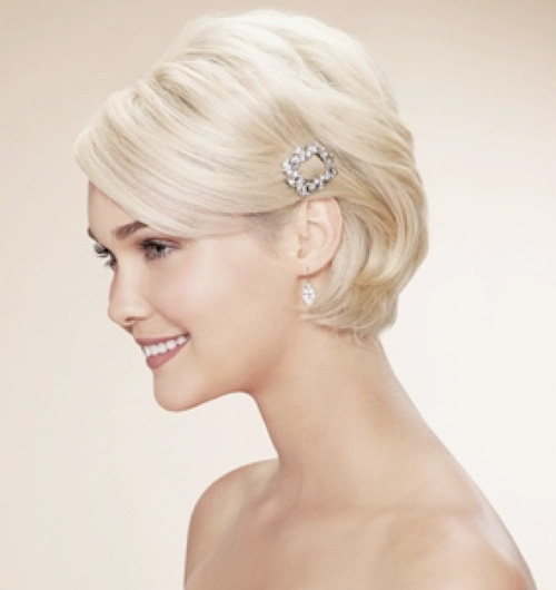 Wedding Short Hairstyles Pictures: Wedding Hairstyles For Short Hair You Must Love