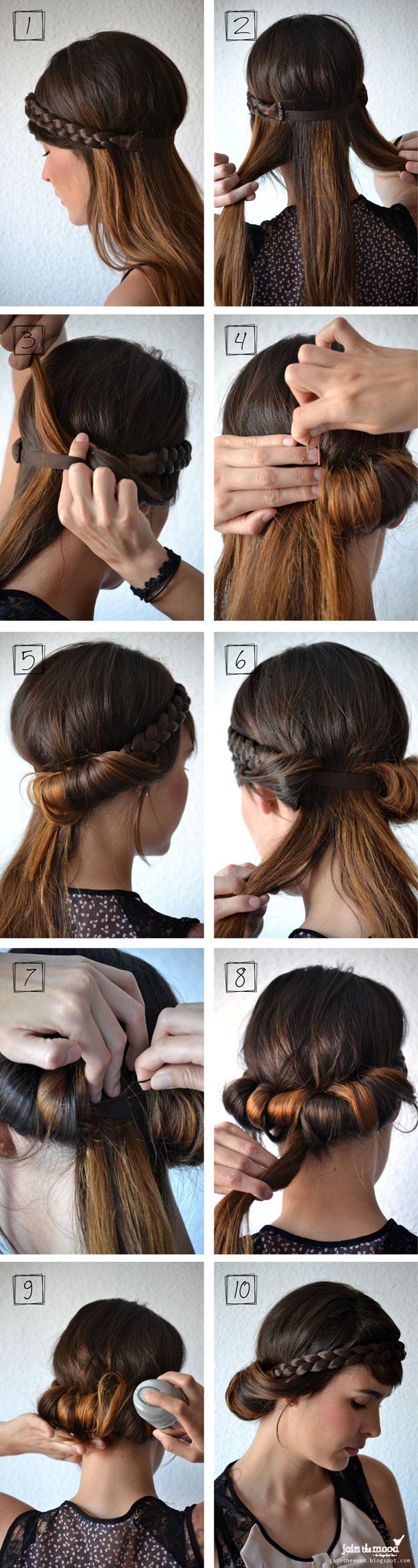 headband braid tutorial - photo #15