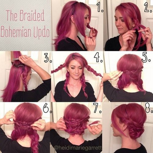 20 Most Beautiful Braided Hairstyle Tutorials For 2018 Pretty Designs. Long  Hairstyles 1920s ...