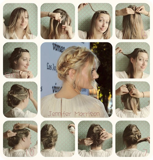 2014 Braided Hairstyle Tutorial