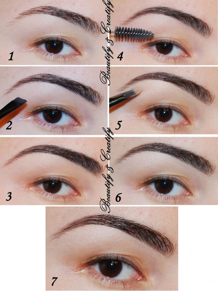 Brow Defining With Eye-shadow/Brow-shadow