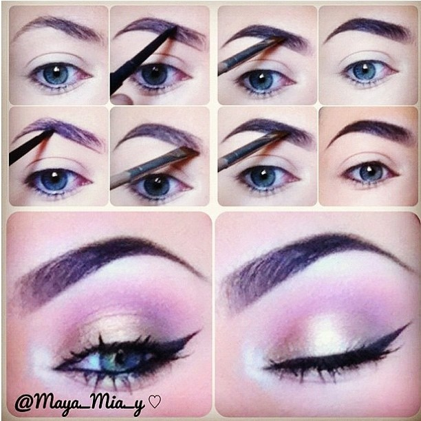4 Ways To Make Your Brows Look Perfect Pretty Designs