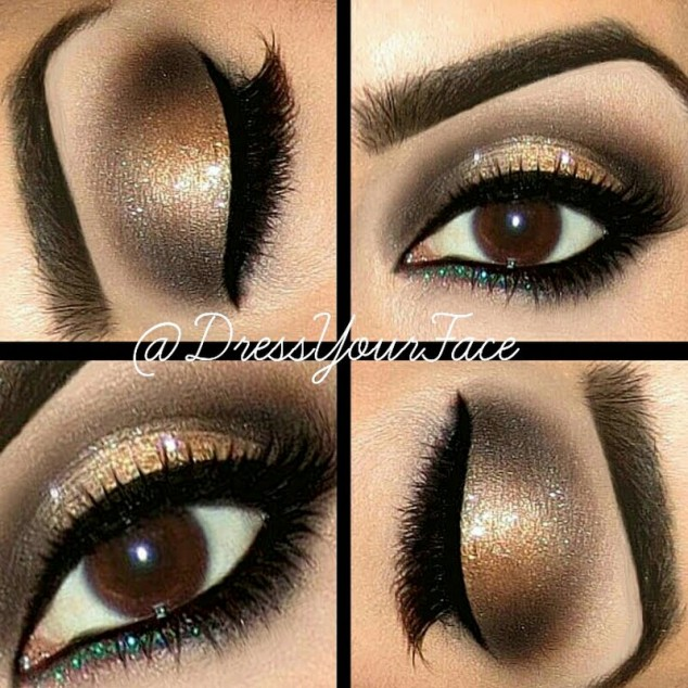 Best makeup brown eyes