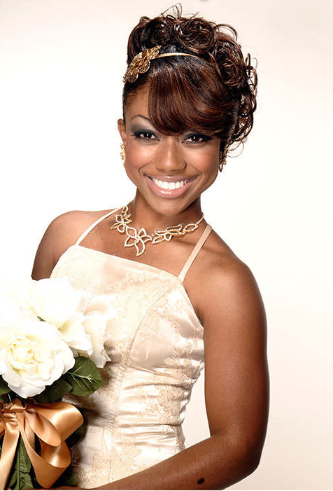 12 Glamorous Wedding Hairstyles for African American Women - Pretty ...