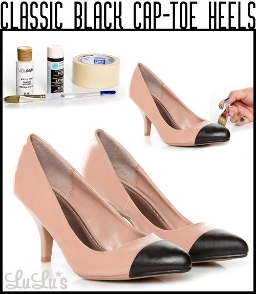 Cap Toe Heels