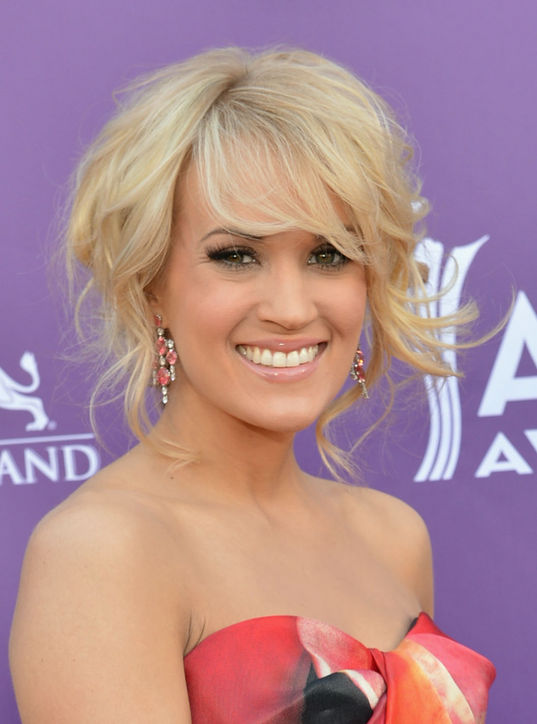 Carrie Underwood's Soft Bangs