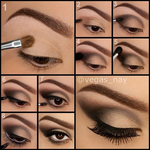 20 Beautiful Makeup Tutorials For Brown Eyes Pretty Designs