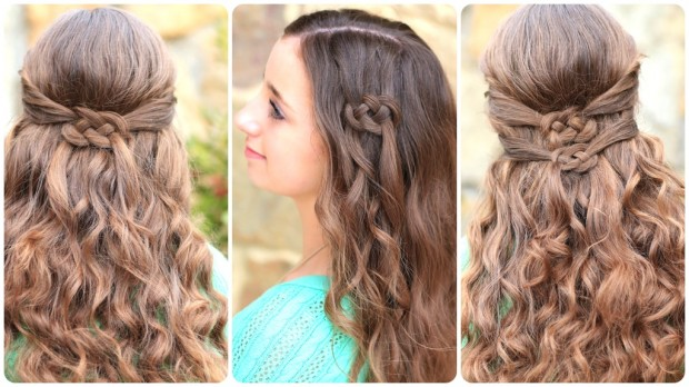 17 Glamorous Braided and Bun Hairstyles for Spring 2014 | Pretty