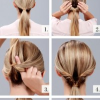 Chic Low Rolled Bun Tutorial