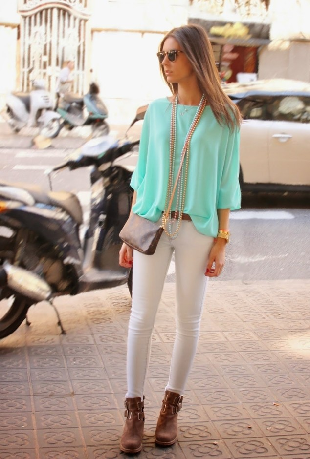 18 Stylish Street Style Outfit Ideas With Blouses Pretty