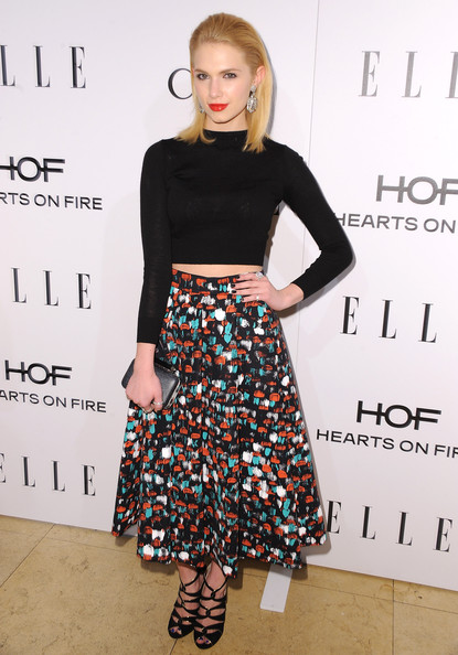 Claudia Lee Long Skirt/Getty Images