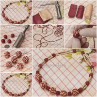 Clay Bead Necklace