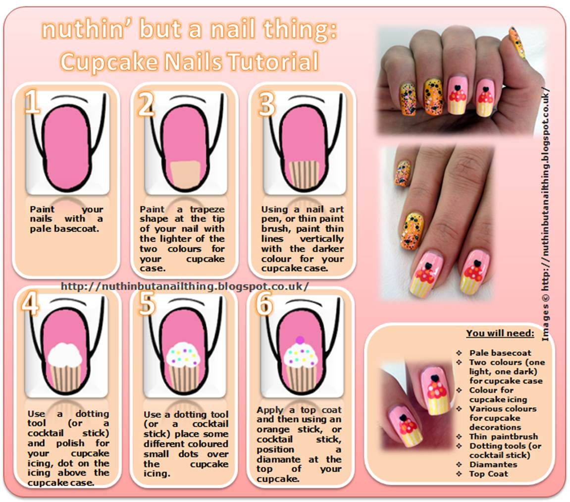 Cute Nail Tutorials for Your New Manicure - Pretty Designs