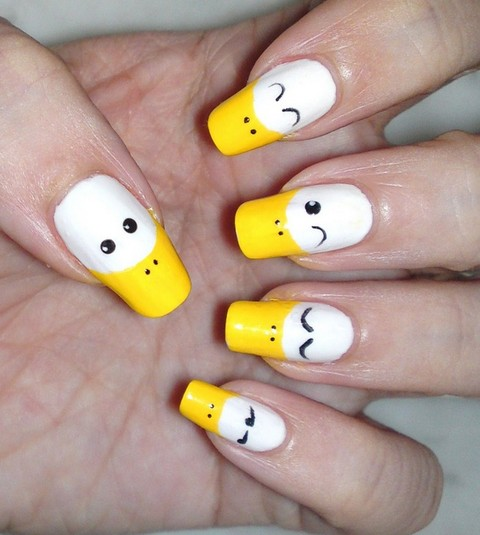 Duck feet nails designs for 3d nail art salon new jersey