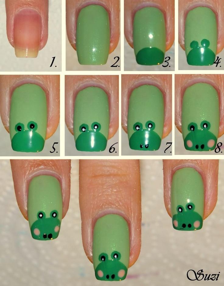 Cute Frog Nails