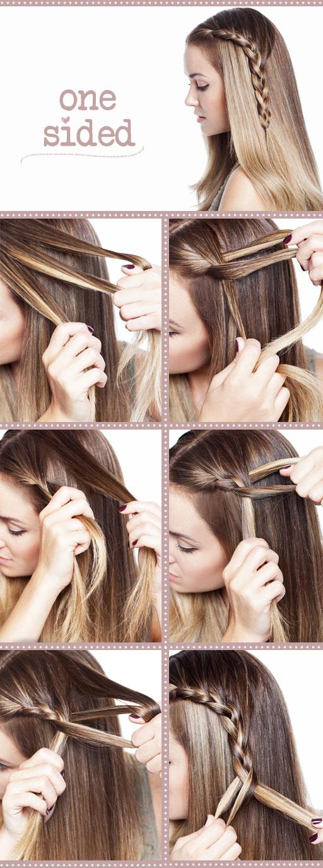 DIY Style a Cute Side Braid Hairstyle via