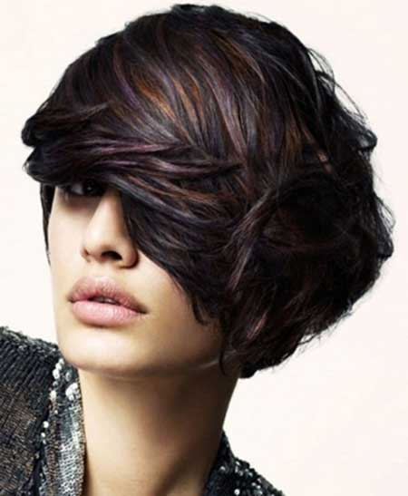 short hairstyles without bangs : 20 Stylish Colors for Short Hair - Pretty Designs