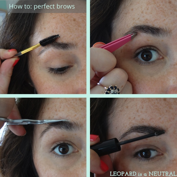 Defining Brows With Mascara