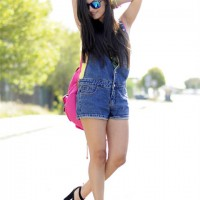 Denim Jumpsuit Outfit Ideas