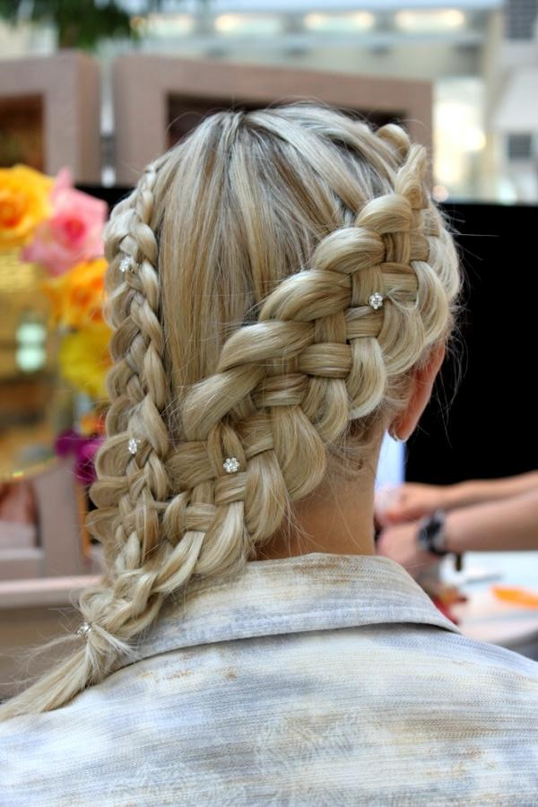 Double Braided Pony Hairstyle