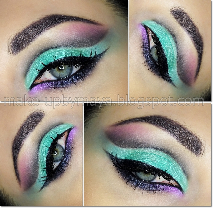 Drastic Eye Makeup