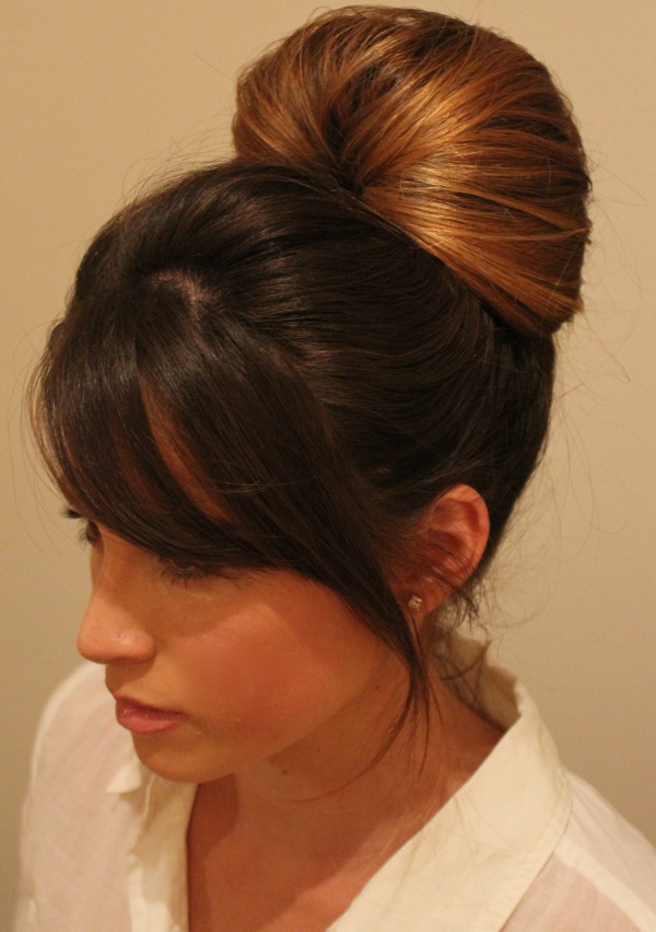 Easy Hair Updo via