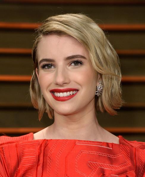 Emma Roberts Short Wavy Cut