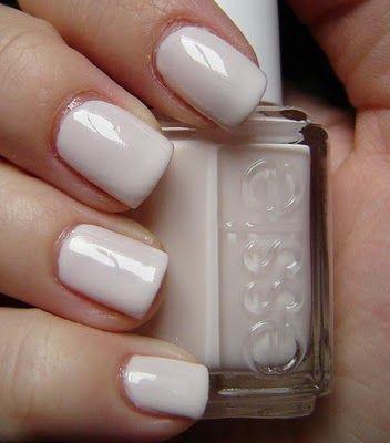 White Nail Designs by Essie Nail Polish - Pretty Designs