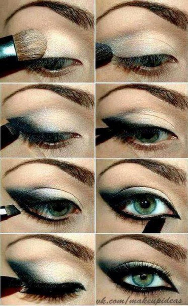 10 Amazing Smokey Eyes Tutorials - Pretty Designs