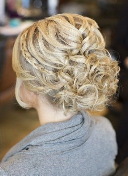 Fabulous Updo Prom Hairstyle Idea