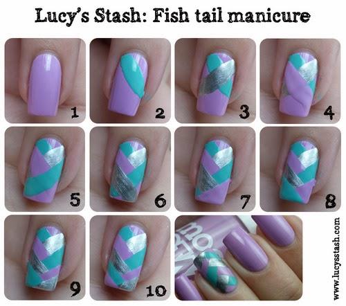 Fishtail Nails