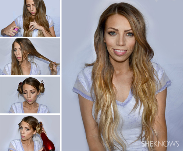 Groovy Curly Hairstyle To Have Beach Waves Tutorials Pretty Designs Hairstyles For Women Draintrainus