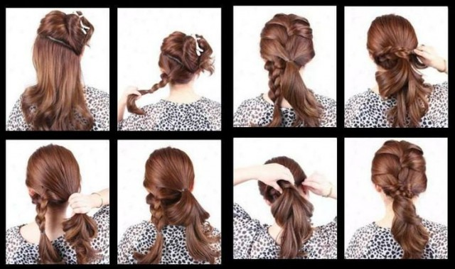 French Braid Pony via