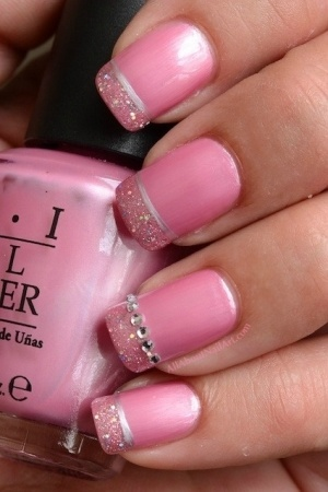 amazing pink nail designs for women  pretty designs