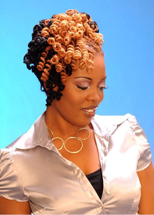 11 Glamorous Hairstyles For Black Hair 2014 Pretty Designs