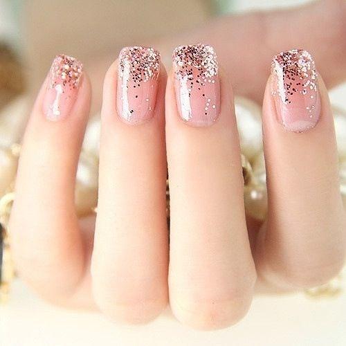 Glitter Tips Nail Designs | Best Nail Designs 2018