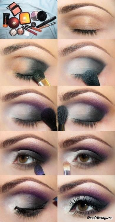 Cute Eyeshadow Tutorial For Brown Eyes | Cosmetics Pictranslator
