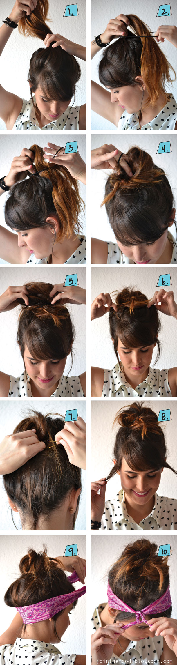 10 Fabulous DIY Hairstyles With Hair Accessories - Pretty