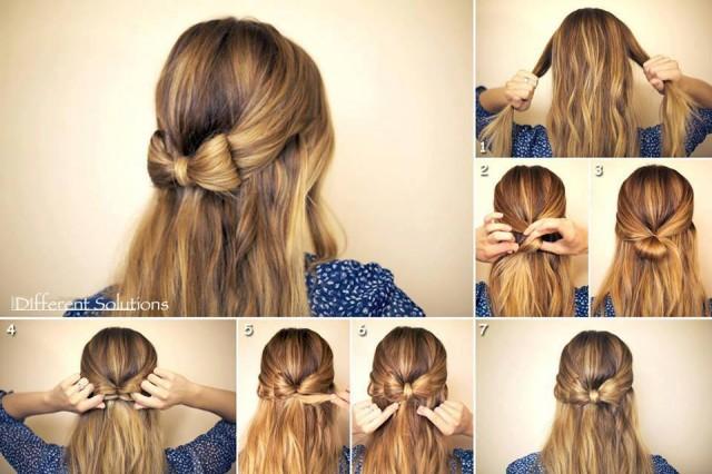 Tremendous 13 Hair Tutorials For Bow Hairstyles Pretty Designs Short Hairstyles For Black Women Fulllsitofus