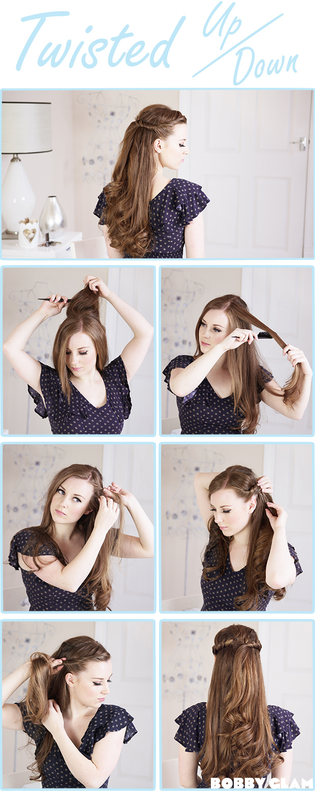 8 Hairstyles To Wear A Bow Hair Tutorials Pretty Designs