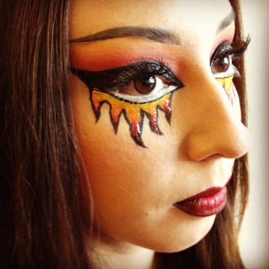21 Creative Vampire MakeUp Ideas - Pretty Designs